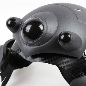 Image 5 - Avec LED respiratoire!!! Deux Mode!!! Casque de veuf pour Cosplay masque de veuf avec lentille France casque de joueur accessoires de Costume