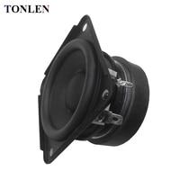 TONLEN 2PCS 4 Ohm Full Range Speaker Portable Audio Hifi Speaker Horn Tweeter Subwoofer Bass Loudspeaker
