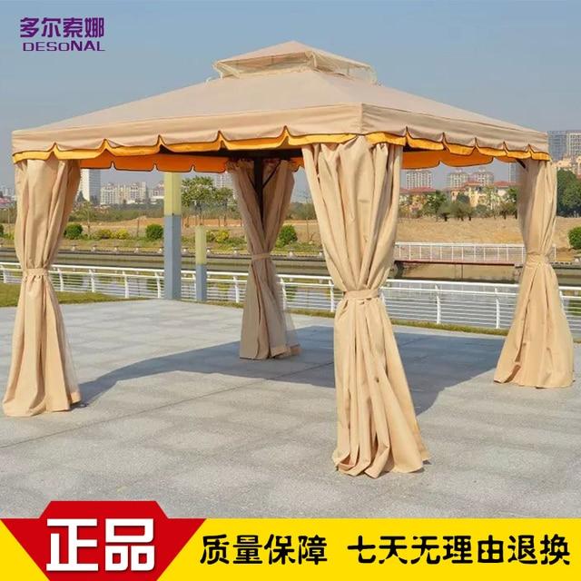 Rom Freizeit Outdoor Pavillon Zelt Pavilion Rooftop Garten Holz Markise  Schatten Regenschirm Werbung Aktivitäten