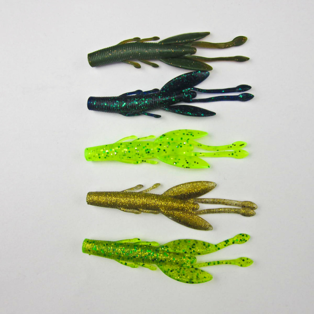 Fishing Super Soft Lure Mantis Bug Creature 90mm/5g Bass Pike Walleye Lure