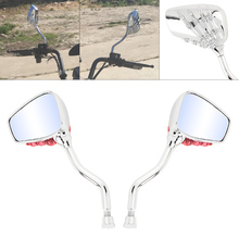 2Pcs 8MM 10MM Universal Motorcycle Side Rearview Mirror Skeleton Skull Hand Claw Scooter for Electric Cars