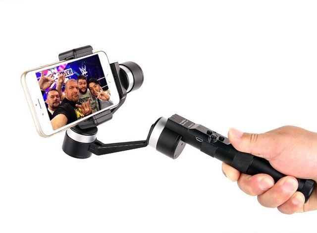Free Shipping 3 Axis Brushless Phone Handheld Stabilizer Gimbal VS Zhiyun for iPhone 6 Plus Smartphone