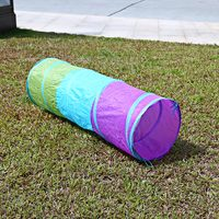 1 5M Colorful Folding Kids Tunnel Tube Play Tent Toy Tents Indoor Outdoor Playhouse Children House