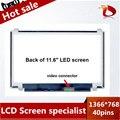"""100% Оригинал N116BGE-L41 N116BGE-L42 B116XW03 V.2 11.6 """"HD 1366*768 Для Acer Aspire One 722 725 Ноутбук светодиодный дисплей ЖК-Экранов"""