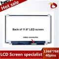 """100% Original N116BGE-L41 B116XW03 V.2 N116BGE-L42 11.6 """"hd 1366*768 para acer aspire one 722 725 laptop pantalla led pantallas lcd"""