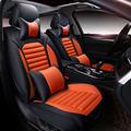 6d deportes accesorios del coche cubierta de asiento de coche cojín de piel de alta calidad, diseño de coches para audi bmw honda toyota ford todos los coches de nissan