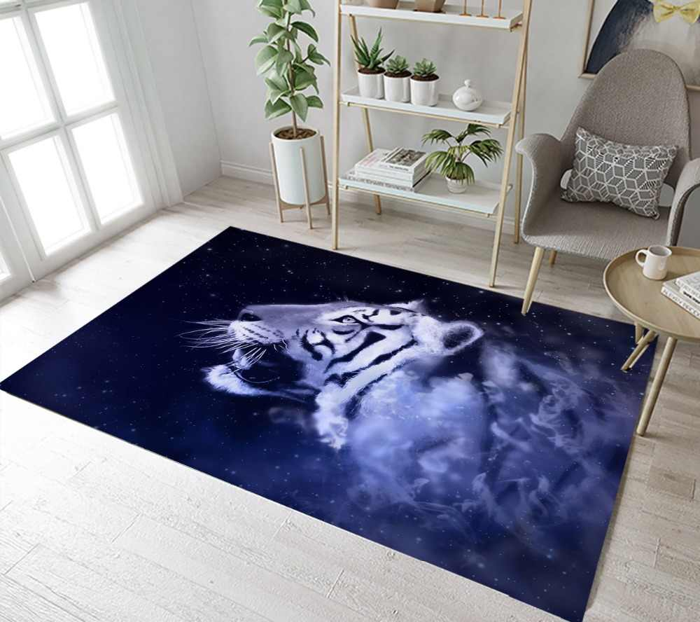 Streszczenie Tiger obszar wykładziny i dywany dla dzieci dla dzieci domu salon antypoślizgowa sypialnia korytarz joga kuchnia drzwi mata podłogowa mata do kąpieli maty