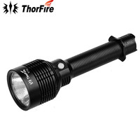 ThorFire S70S Waterproof XHP70 LED Flashlight 3960 lm 6 modes Long Distance Searchlight for Camping S70 Upgraded Version