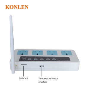 Image 4 - Konlen 16A  GSM Socket Timing Switch Home Smart Remote Control Power Plug 4 Channel Relay With Temperature Sensor