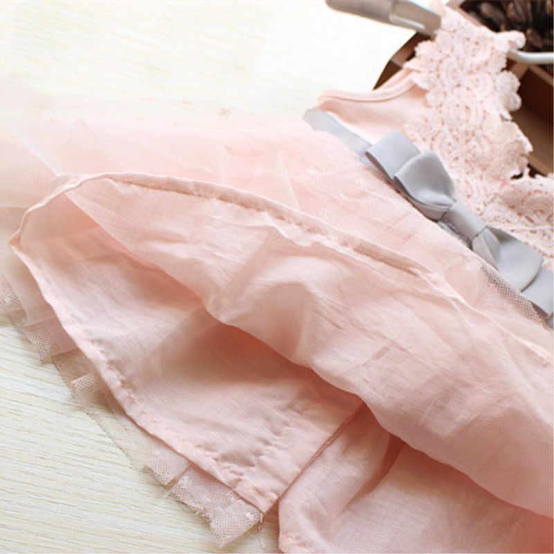 Fanfiluca Rất Đẹp Bow Bé Cô Gái Ăn Mặc Cotton Ren Mềm Mại Cơ Thể Trẻ Sơ Sinh Phù Hợp Với Bé Quần Áo Chất Lượng Cao
