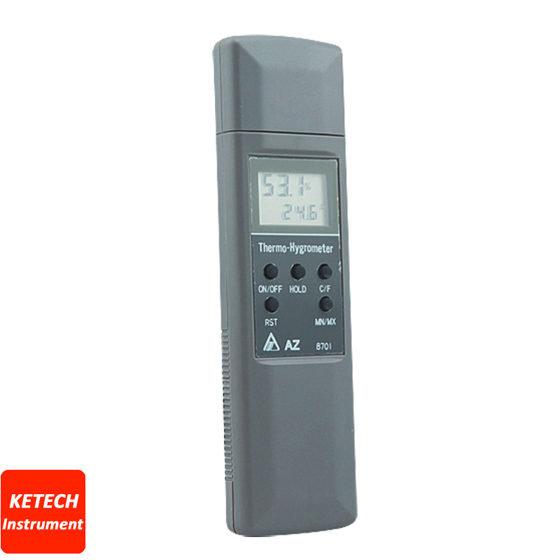 Pocket Type Hygro-Thermometer Temperature Humidity Meter AZ8701 az 8703 pocket type hygro thermometer temperature humidity tester