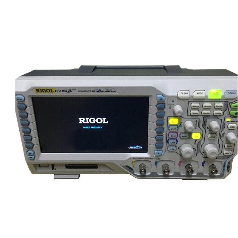 4 canali oscilloscopio RIGOL DS1104Z oscilloscopio digitale 100 mhz 4 Canali Profondità di Memoria 12 Mpts 30,000 wfm/s