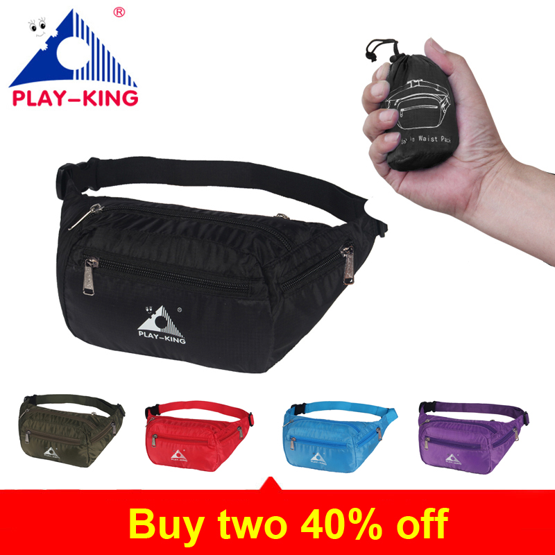 Leather Pink Waist Fanny Pack Bag Belt For Women Men Black Bum Money Belt Waist Bag Pouch With Strap Waterproof Foldable 2018