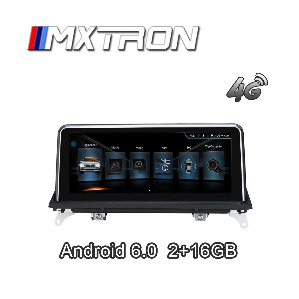 MXTRON Pour BMW X5 E70 10.25 pouce Android Navigation avec WiFi Bluetooth