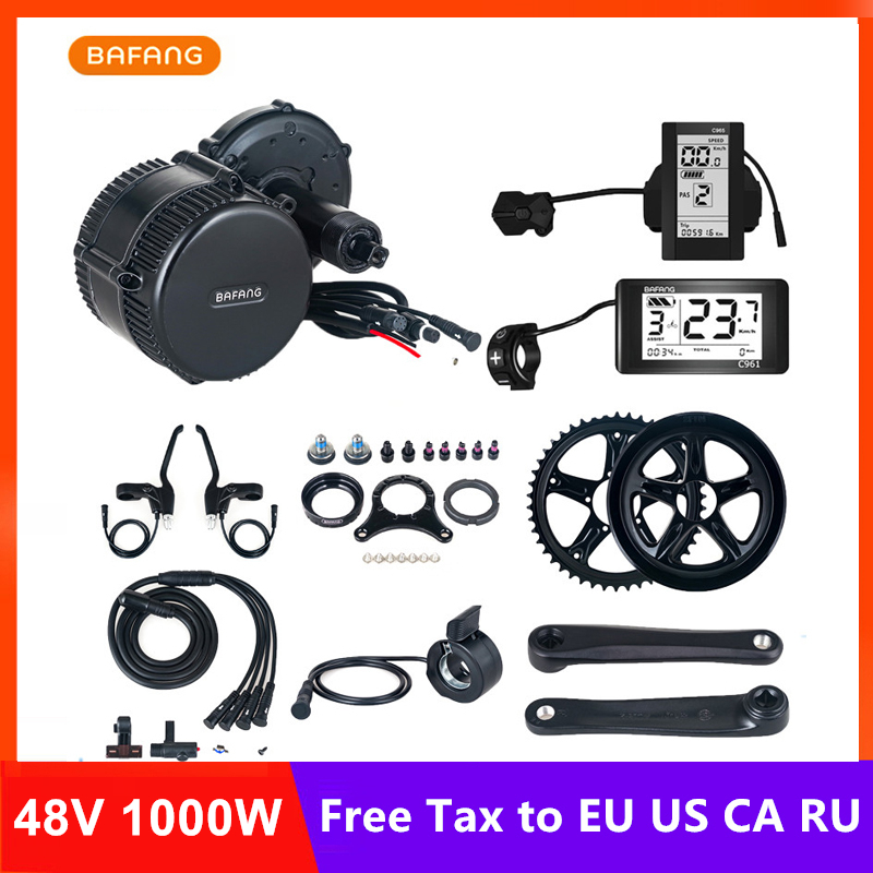 Bafang 8fun BBSHD BBS03 48 V 1000 w moteur électrique moteur de vélo électrique Kit de moteur électrique pour vélos Kit de Conversion Ebike