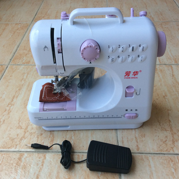Household Multifunction Minielectric Sewing Machinetabletop Sewing Adorable Table Top Sewing Machine