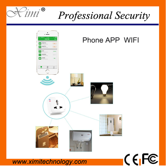 Smart home WIFI extend Remote Control Smart Wifi Plug EU/AU/UK/US Socket  Wireless Switch for Anddroid And iPhone App kerui wireless remote switch smart socket power eu us uk au plug standard for home security alarm system g19 g18 8218g 433mhz