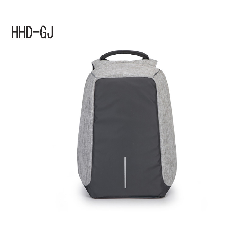 HHD-GJ Anti-theft Waterproof 17.3 Laptop Backpack Men External USB Charge Notebook Backpack for Women 15.6'' Computer bag 2017 cool bell anti theft notebook backpack 15 6 inch waterproof computer backpack for men women external usb charge laptop bag