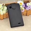 Flip Aberto Covers Casos de Telefone PU Couro Casos de Telefone Para Lenovo A660 Best Selling Em Estoque Frete Grátis
