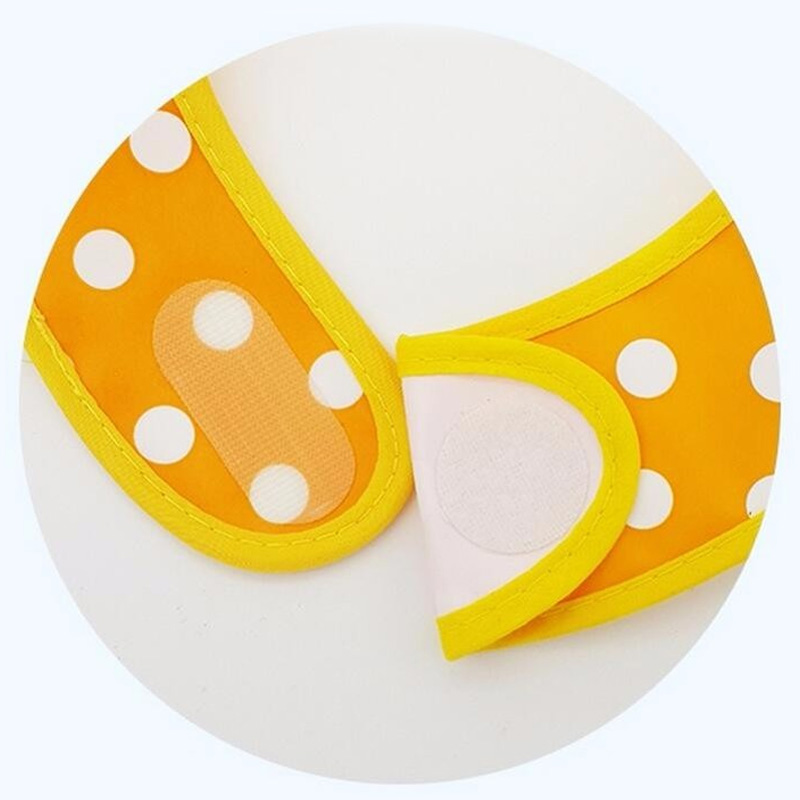 Baby Bibs EVA Waterproof Lunch Bibs Boys Girls Infants Cartoon Pattern Burp Cloths For Children Self Feeding Care