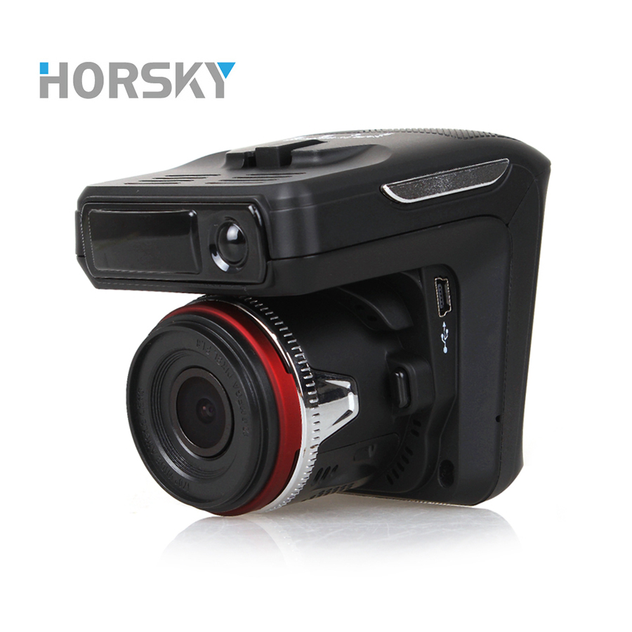 HORSKY Car DVR Camera radar Recorder Video Speed Detector 3 in 1 and Night Vision G-Sensor Led Display plautus volume 2