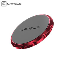 Cafele Universal Magnetic Mobile Phone Holder Flat Stick On Dashboard Magnetic Car Mount Stand for Cell Phones and Mini Tablets(China)