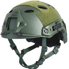 Armée Militaire Tactique Casque Couverture Casco Airsoft Casque Sport Accessoires Paintball Rapide Saut De Protection Visage Masque Casque