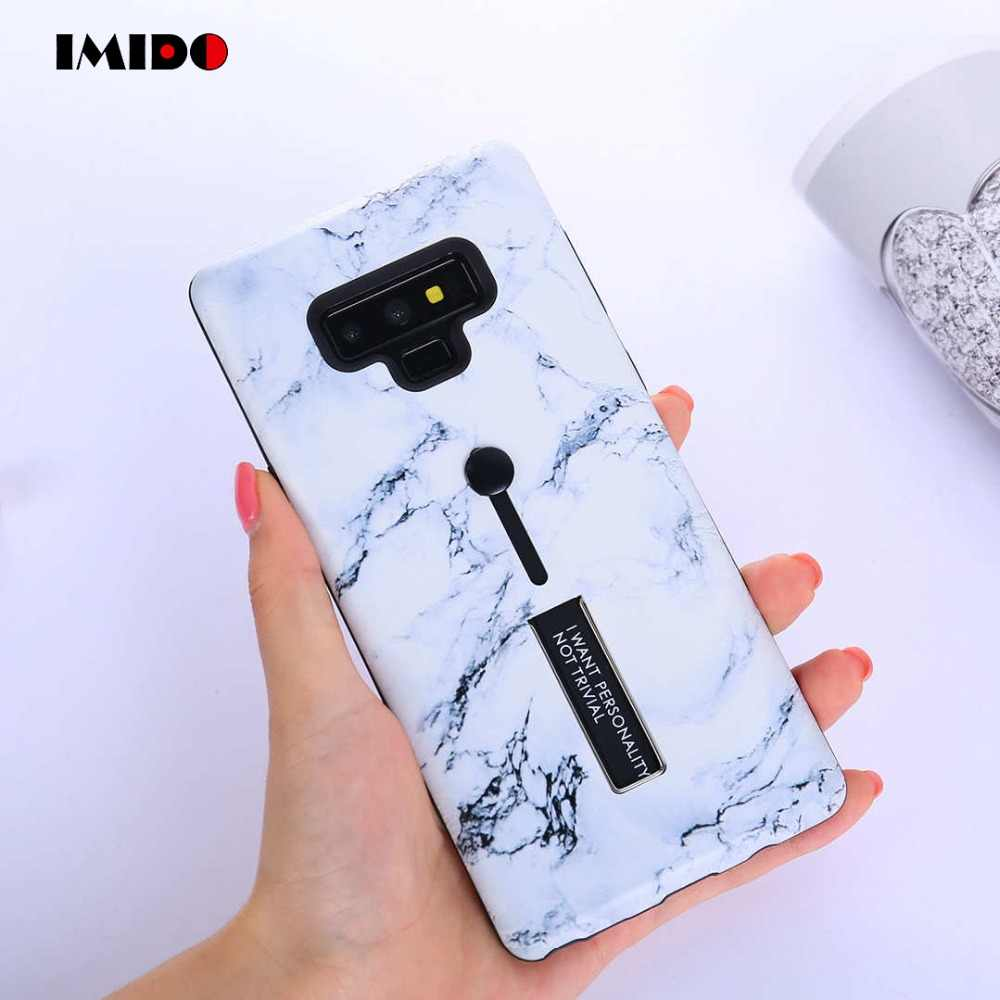 IMIDO Phone Case For Samsung Galaxy S9 Plus Hide Ring Stand