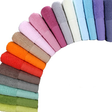 140g Soft Cotton Face Towel For Adults Thick Bathroom Super Absorbent 34*74cm serviette  toallas de ducha handdoeken