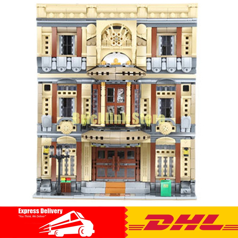 XingBao 01005 Block 5052Pcs Genuine Creative MOC City Series The Maritime Museum Set Building Blocks Bricks Toys Model Gifts