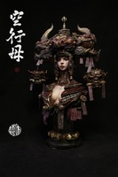 1/ 10 Kong XINGMU DAKINI Resin bust Chinese mythical figure model kit