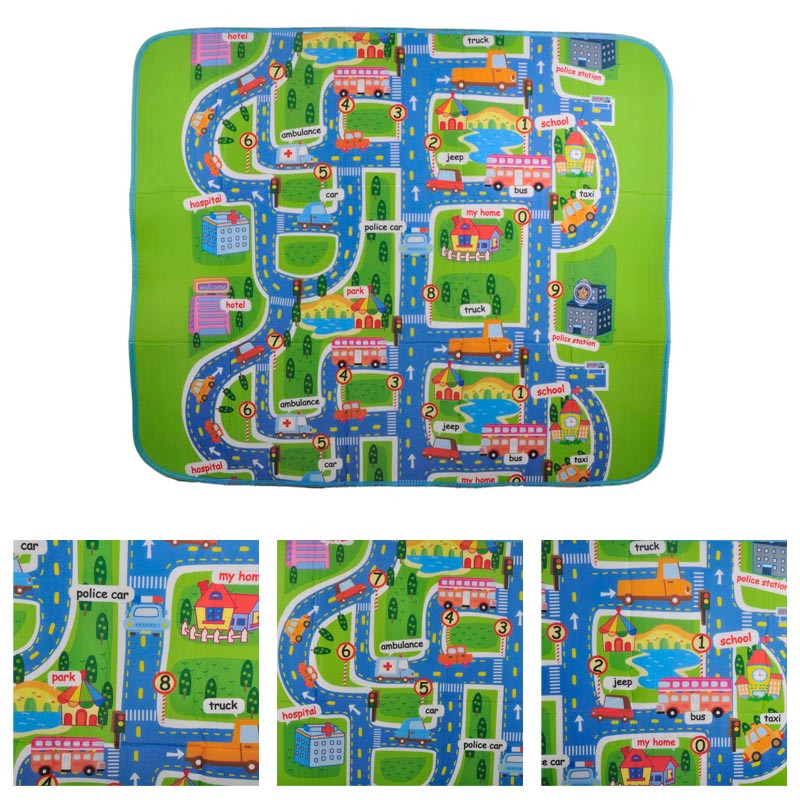 2 size Activity children puzzle play mat baby for kids room carpet rug blanket learning educational toys hobbies for boys girls 3