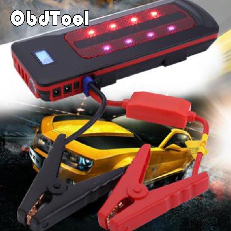 22000 мАч автомобиля Пусковые устройства Портативный Запасные Аккумуляторы для телефонов 12 В Зарядное устройство для автомобиля Батарея пускового устройства усилитель Buster бензин 8.0l Diesel 6.0l