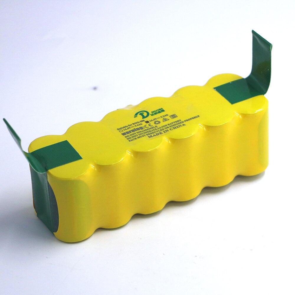 14.4 v 5200 mah Ni-MH Bateria de Substituição para Authentic Irobot Roomba 500 600 700 Series Bateria 555 595 620 630 650 660 790