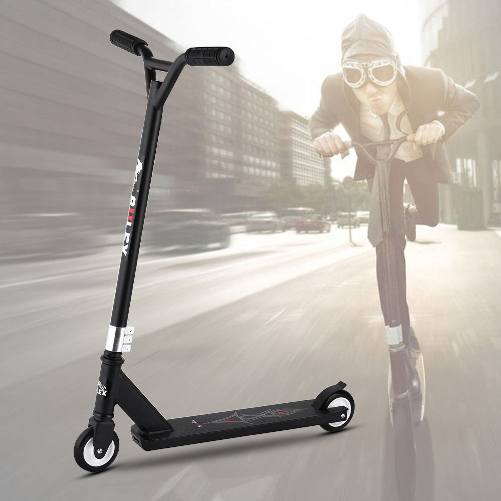 Ancheer Children Kids Adjustable Height 2-Wheel Kick Scooter Extreme Adult Scooter Trottinette Enfant Kids Scooter Patinetes ancheer new adult scooter adjustable height 2 wheel kick scooter foldable 3 levels foot scooters wakeboard