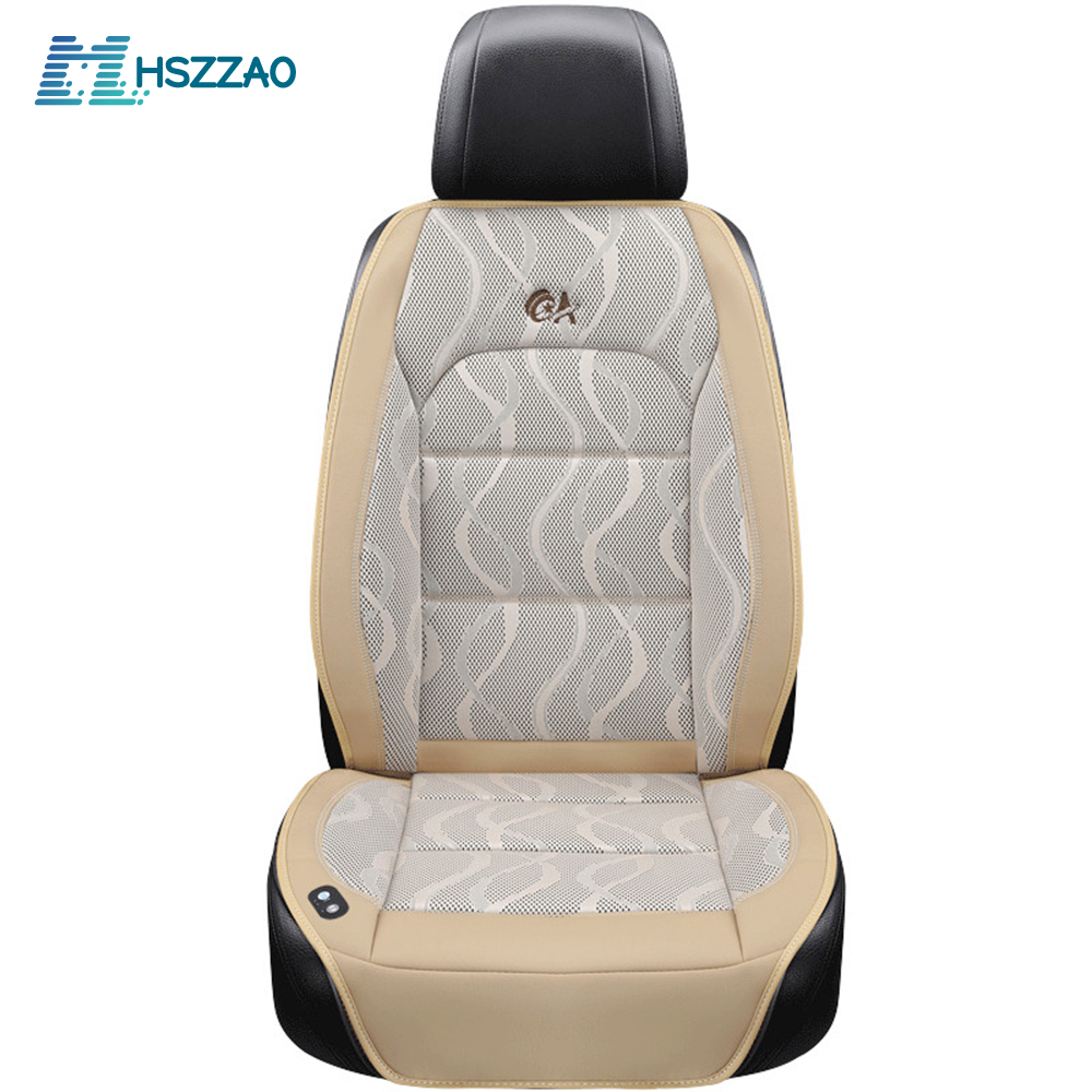 Luxury 12V Car Seat Cushion Air Cushion with Fan Massage Seat Covers Car Seat Cooling Vest Cool Summer Ventilation CushionLuxury 12V Car Seat Cushion Air Cushion with Fan Massage Seat Covers Car Seat Cooling Vest Cool Summer Ventilation Cushion
