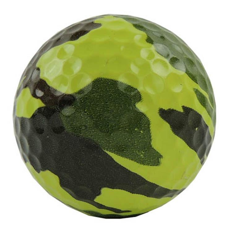 5 PCS Golfboll, Camouflage golfboll, speciell golfboll