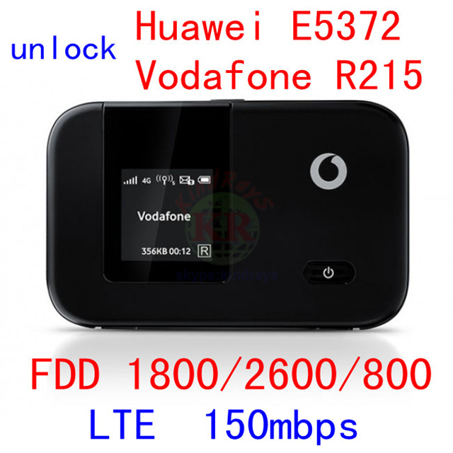 unlock Huawei E5372 Vodafone R215 4G 150Mbps LTE wireless router 4g wifi  Dongle lte fdd pocket wifi router pk e5377 e589 e5577-in Networking from