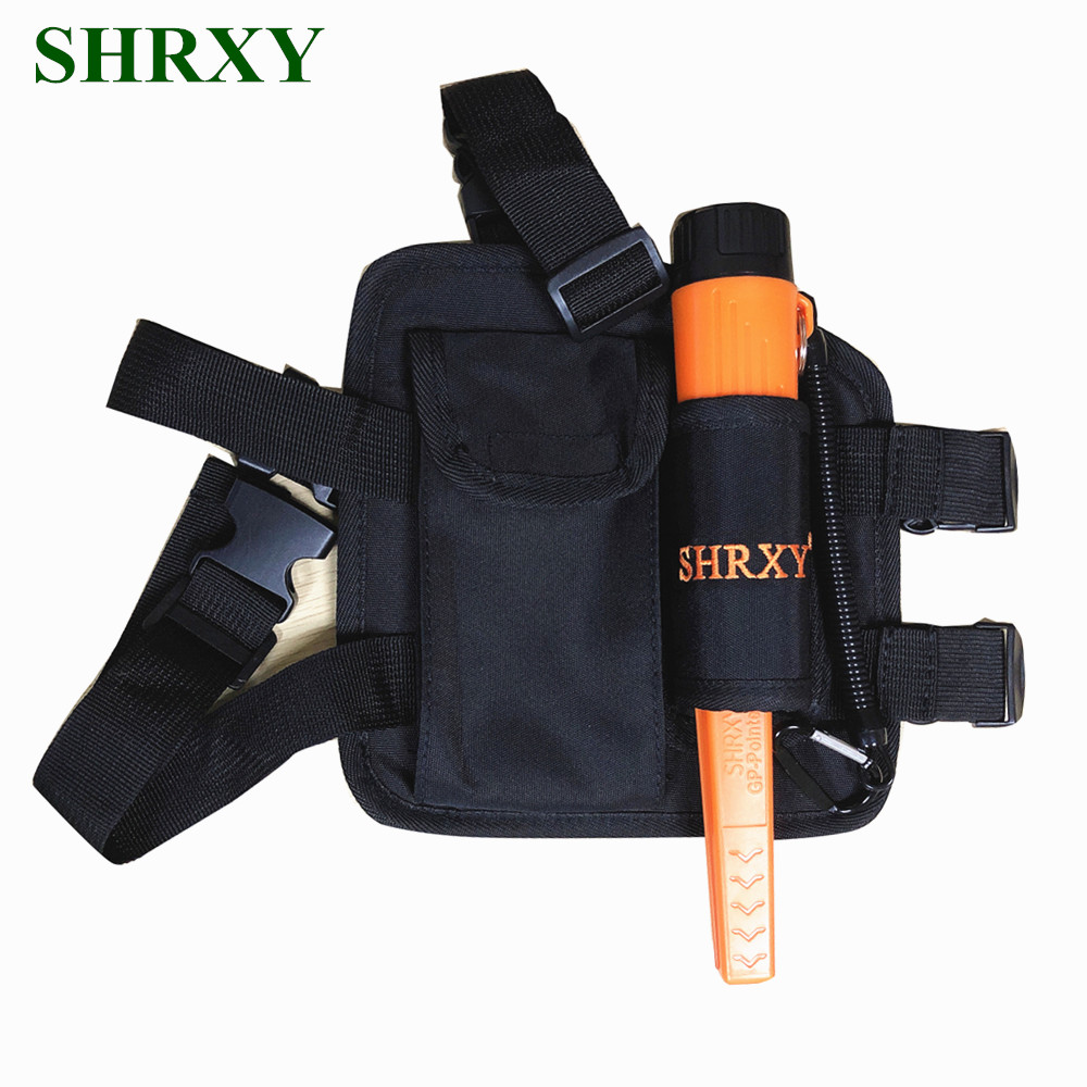 SHRXY Metal Detector Set Pointer TRX Pro Pinpointing Waterproof Hand Held Metal Detector with Drop Leg Pouch ProFind Bag KIT цена