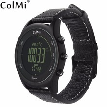 ColMi Além de Temperatura Pressão Altitude Bússola 5ATM Relógio Inteligente IP68 À Prova D' Água Profissional Homem de Montanha Ao Ar Livre Smartwatch