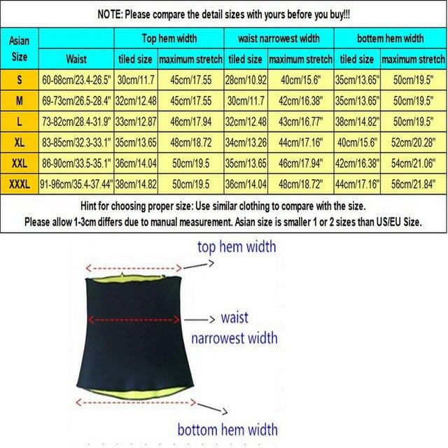 KLV Unisex Health Neoprene Slimming Body Yoga Sweat Shaper Wrap Sauna Waist Slimmer Controlling Weight Scoliosis Correction Belt 2