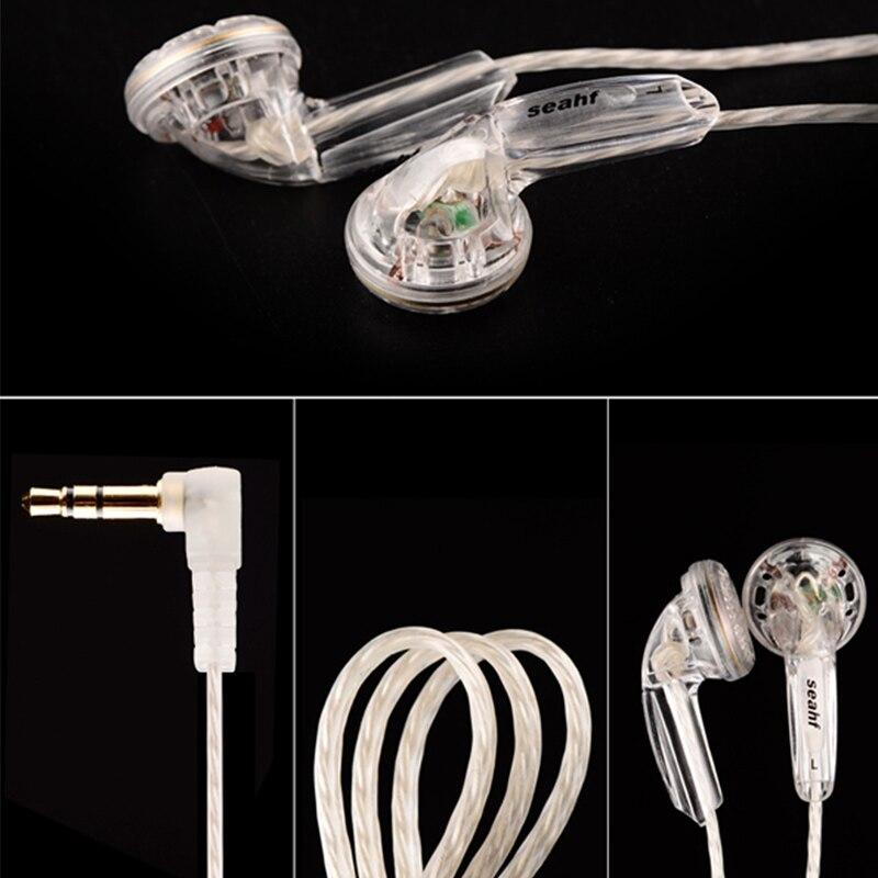 Earphone For Seahf AWK-F32T Headset Flat Head Plug Earphones HIFI Headsets Kill Monk Earpods Wearable Devices For Xiao Mi