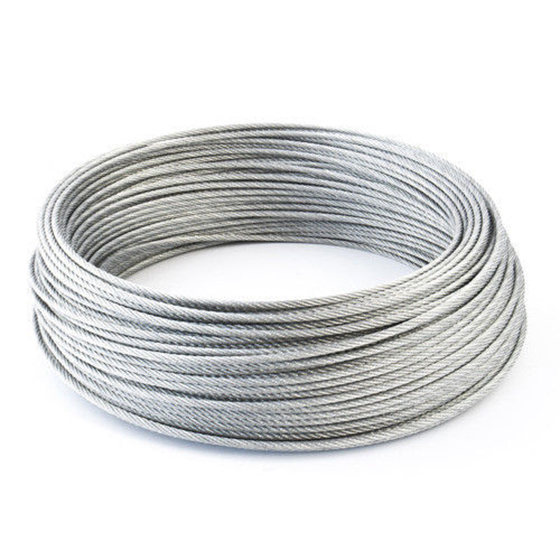 THGS STAINLESS Steel Wire Rope Cable Rigging Extra, Diameter:1.0mm