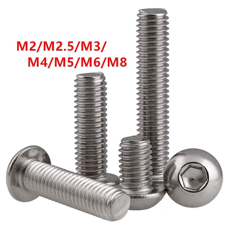 40 tornillos hexagonales tuercas A2 M6 x 80 acero inoxidable A2 clase de resistencia 70