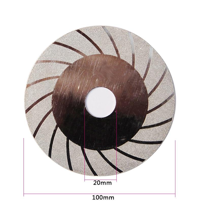 100mm diamant disque de coupe pour dremel outils accessoires outil - Outils abrasifs - Photo 5