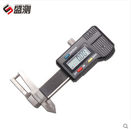 FREE SHIPPING 0-25mm new digital dial gage,digital caliper,digital depth gage, caliper with electronic digital readout