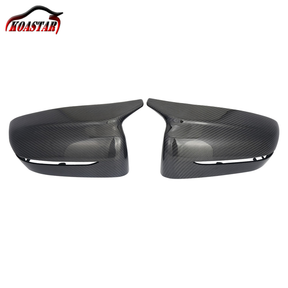 M Look Real Carbon Fiber Mirror Cover For BMW 5 Series G30 G31 G38 7 Series