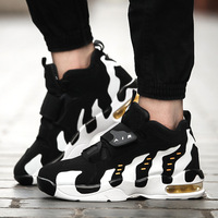 2018 Autumn Couple Air Cushion Shock Absorber Basketball Shoes Men's Sports Shoes Outdoor Non slip Sneakers for Women Athletic