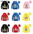 3-9ages boys girls t shirt spring autumn children boys tees sweatshirt with hooded ninos bebe camisa de t La camiseta SAILEROAD