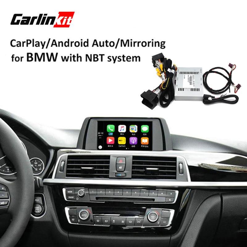 Реверсивный Камера Интерфейс модуль для BMW 1/2/3/4/5/7 серии X3 X4 x5 X6 MINI с НБТ Системы с Carplay Android Auto зеркалирование